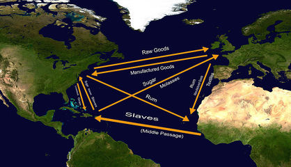 The success of triangular trade system depended on increasing